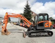Doosan mini excavator DX 75