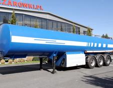 fuel tank trailer PROD RENT 4 CHAMBER CISTERN NCP 34