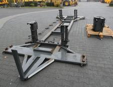 chassis BDF HYDRAULIC LIFTED CHASSI for MERCEDES-BENZ ACTROS 2542 truck