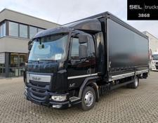 Daf LF 220 / Ladebordwand / 1 Bett