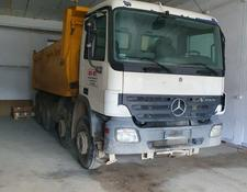 Mercedes-Benz concrete pump Actros