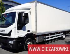 Iveco isothermal truck Eurocargo 120E19 , E6 , 4x2 , 21 EPAL , box 8,5m , side door , l