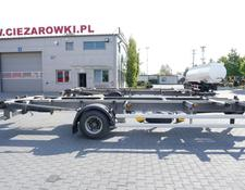 ACKERMANN chassis trailer Z-EAF 11/7 , BDF , chassis 7,2m , air suspension , BPW , 2 units